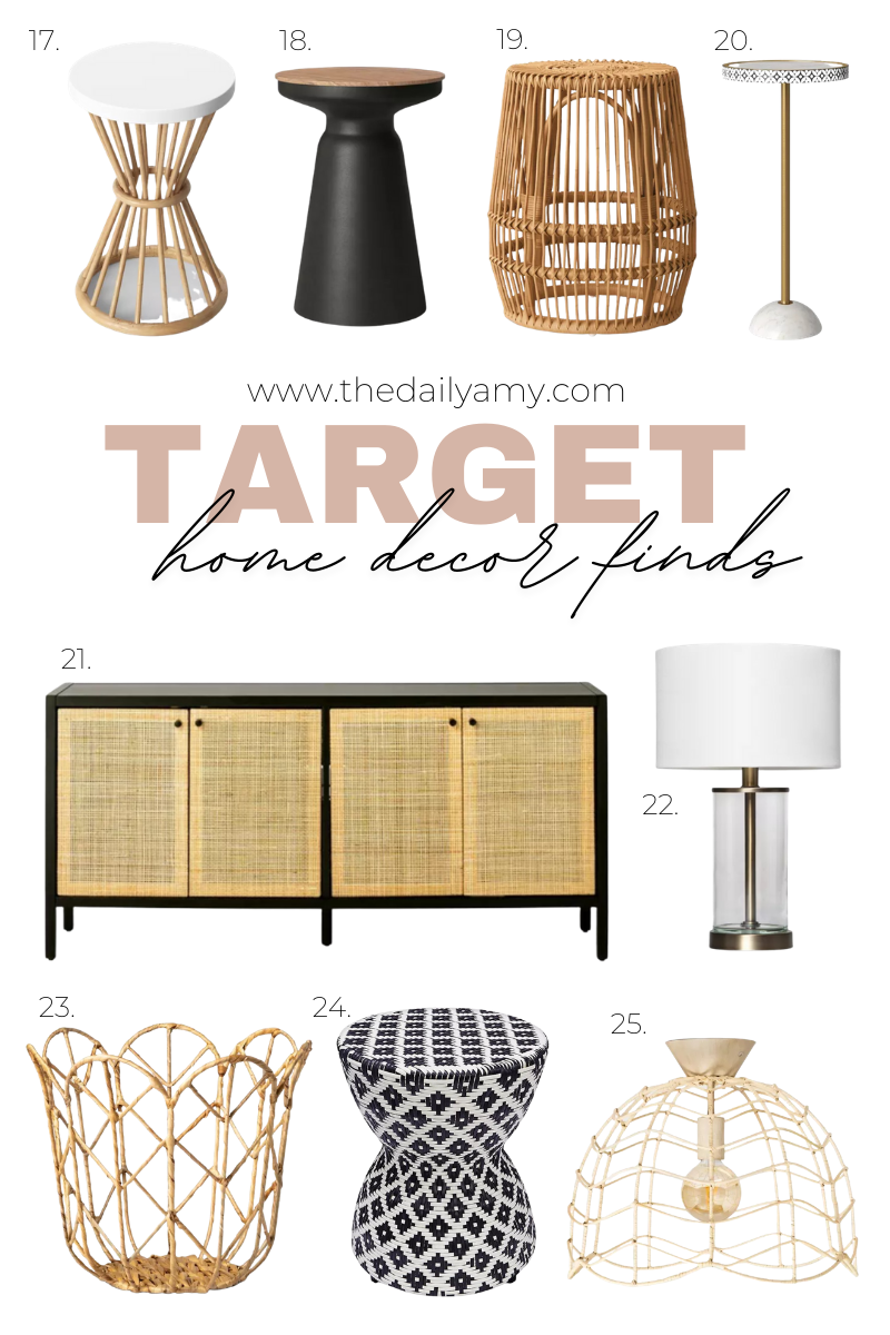 Affordable Neutral Home Decor Finds - Target