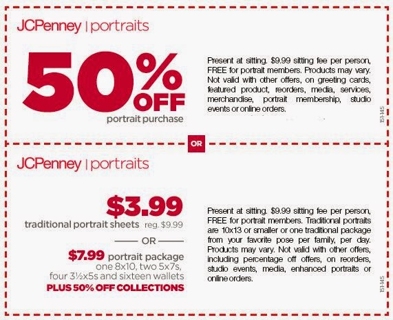 jcpenney portrait coupon code free shipping