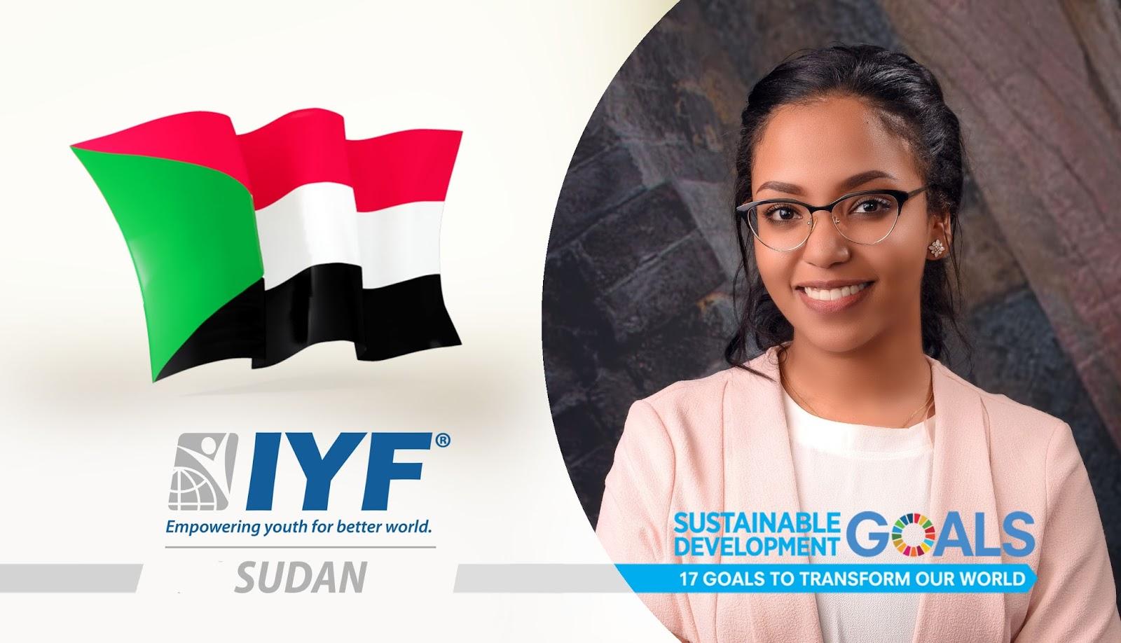 Azza Elamin, IYF Representative in Sudan