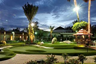 Phuket Adventure Mini Golf by night