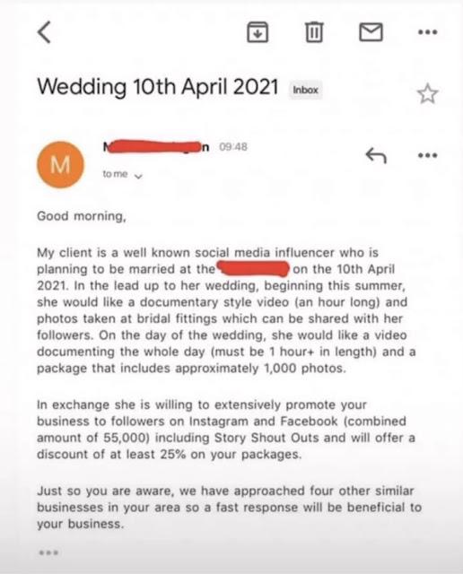 Nigerian Photographer Shares Screenshot Of Hilarious Message He Got From A Client
