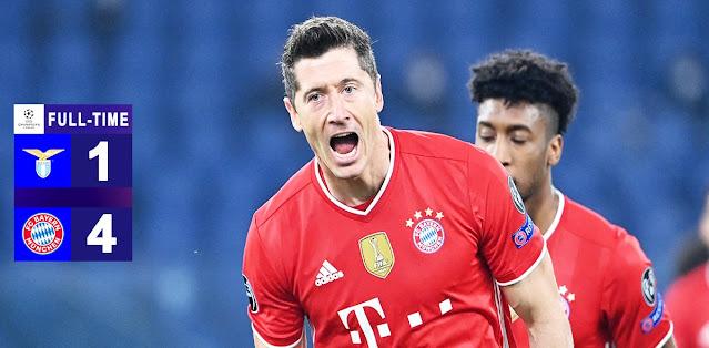 Lazio vs Bayern München Highlights