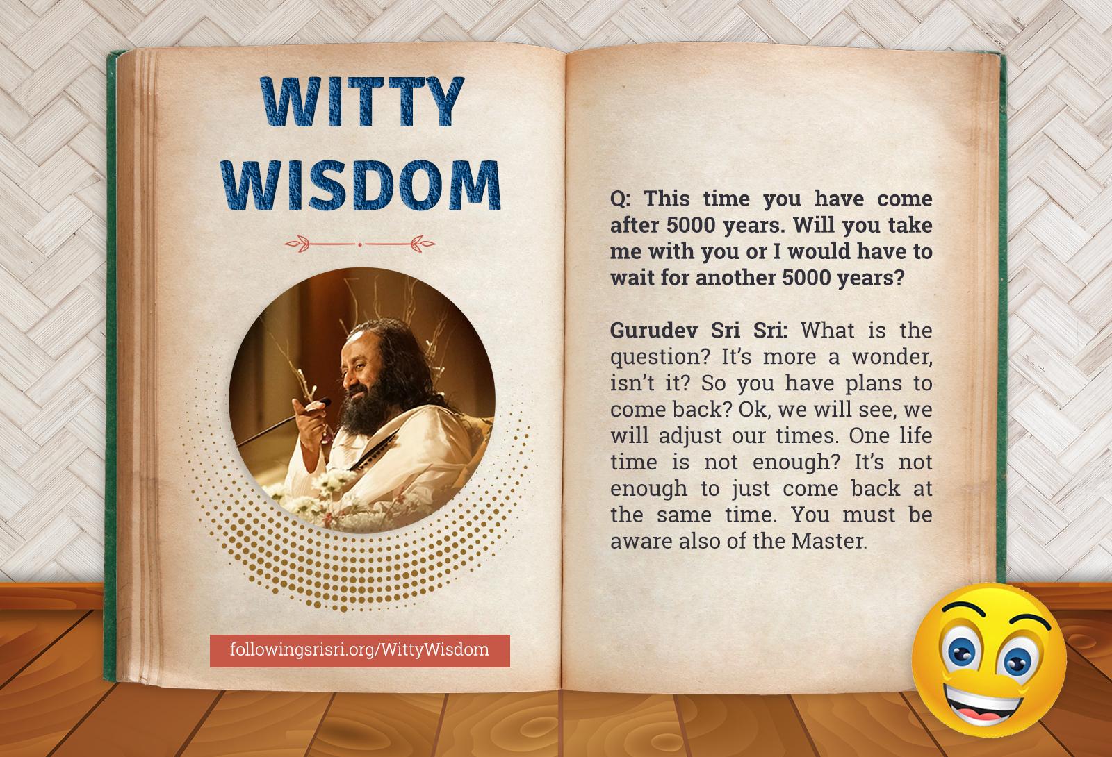 Lifetime | Witty Wisdom