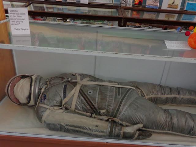 Deke Slayton astronaut suit Sparta WI