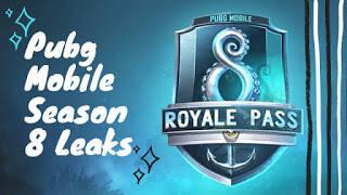 Pubg mobile season 8 leaks, Power of the Ocean, M24 Skin, PP-19 Bizon, DP-28 GUN Skin