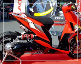 modifikasi honda beat ala thailand