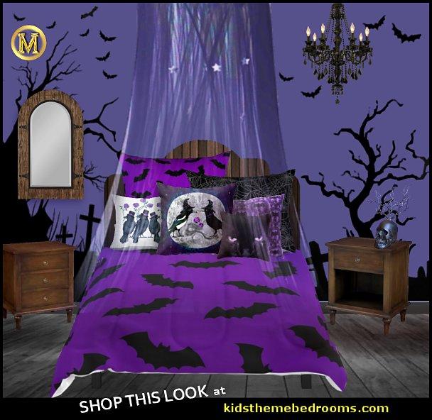 halloween purple bedroom halloween bedding halloween pillows halloween bedrooms