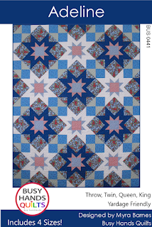 Adeline Quilt Pattern by Busy Hands Quilts