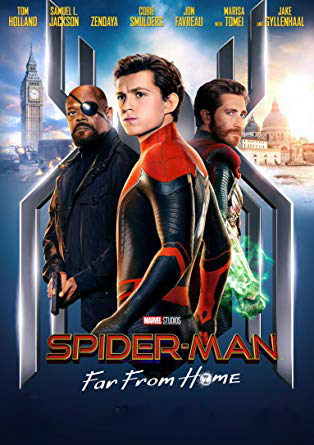 Spider-Man: Far from Home [2019] [CUSTOM HD] [DVDR] [NTSC] [Latino] :(