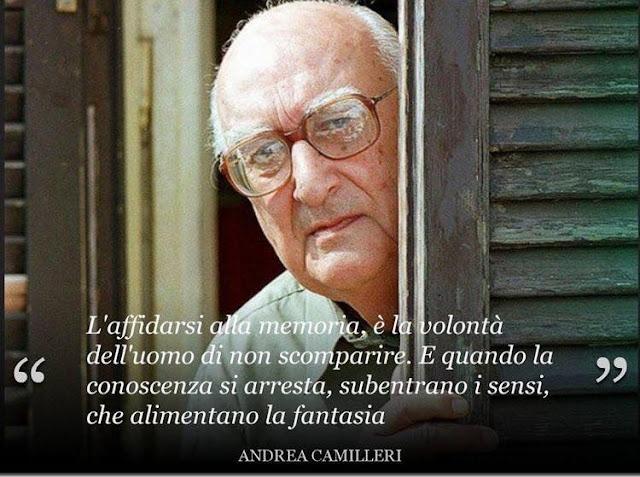 """Addio al Maestro! Muore Andrea Camilleri, il """"padre"""" del Commissario Montalbano."""