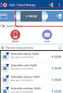 payzapp refer earn proof cash back screenshot
