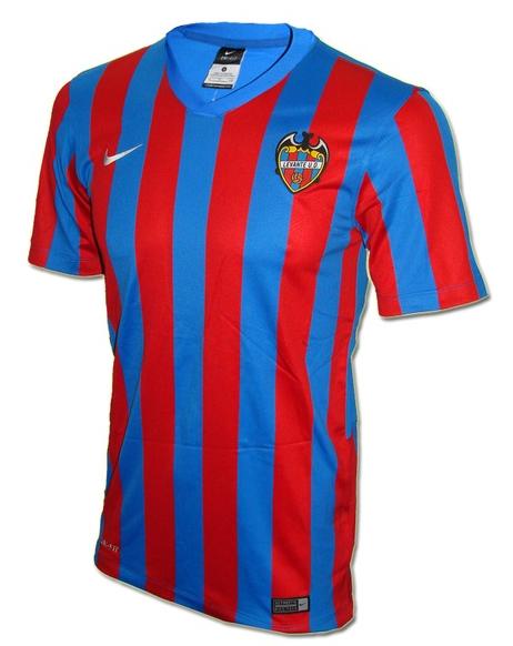 La segunda camiseta del levante 2014-2015 combina el negro y el gris  antracita b429448985ba5
