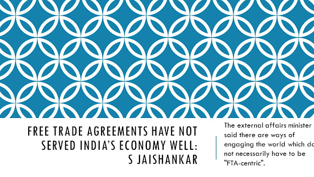 Free trade agreements have not served India's economy well