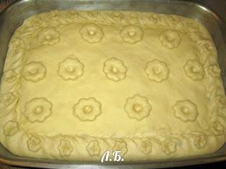 простое украшение пирога