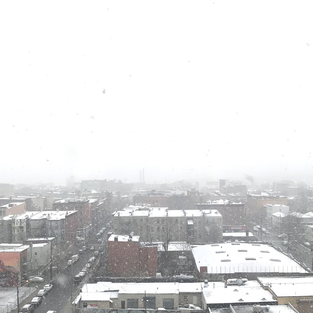 A Week in Pictures | December Advent Snow Day | Linzer Lane Blog #artist #jerseycity #snowday