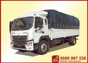 xe-tải-Thaco-Auman-C160A-tải-trọng-8,5-tấn-thùng-dài-7,4-tấn