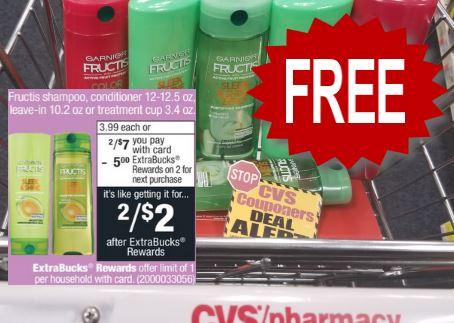 free garnier hair care cvs