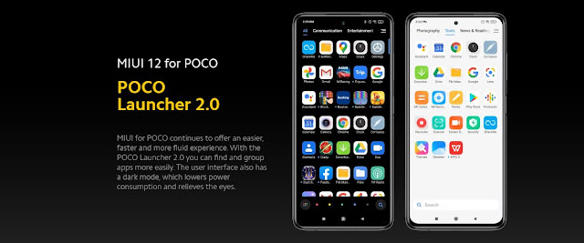 Poco x3 nfc miui 12and launcher 2.0