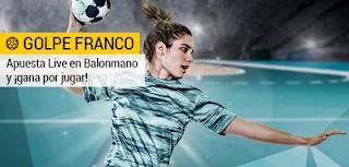 bwin promocion apuesta gratis solo por jugar Balonmano 1-17 diciembre