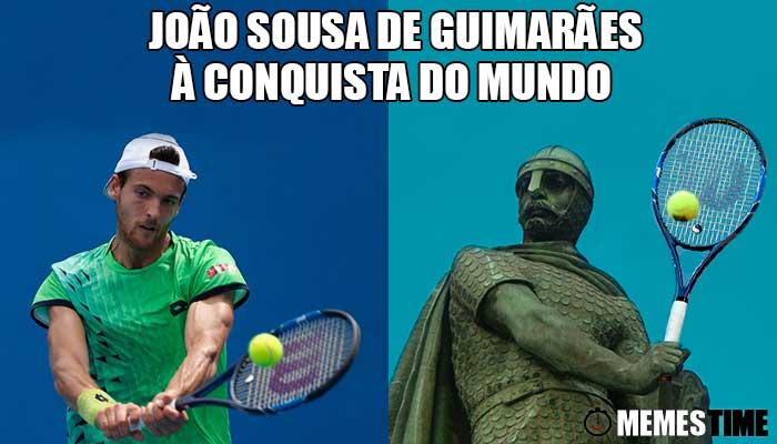 Memes Time João Sousa 36º do Ranking ATP na 3ª Ronda do US Open – Guimarães João Sousa de Guimarães à conquista da América