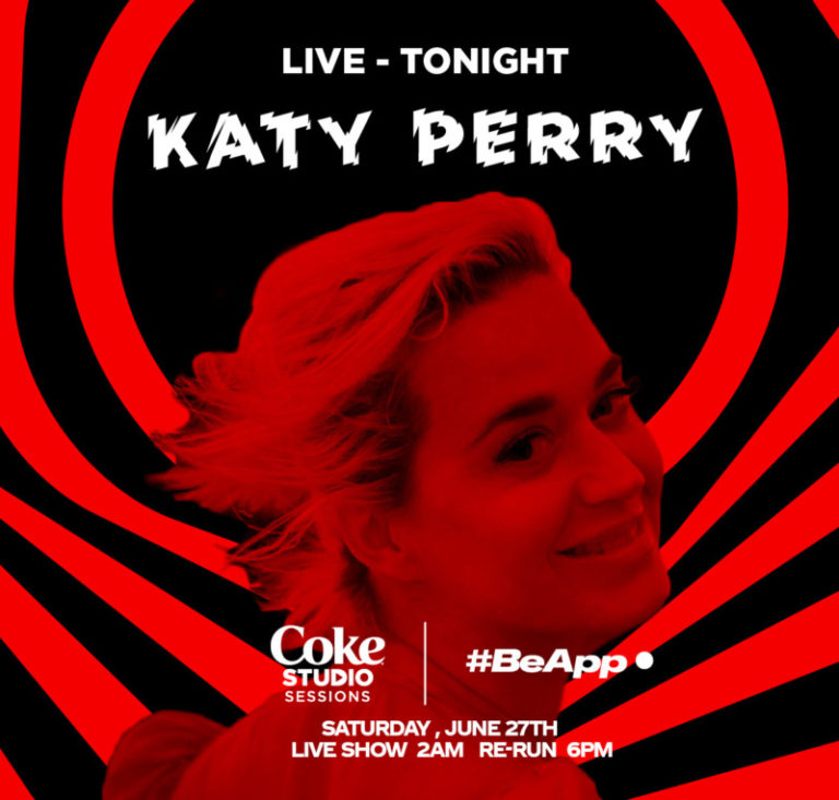 Katy Perry, Tinashe, Gryffin And More To Perform In This Week's Coke Studio Sessions #Arewapublisize