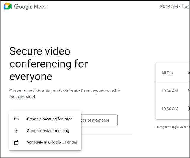 Google Meet Adds Instant Meetings for Quick Virtual Meetups