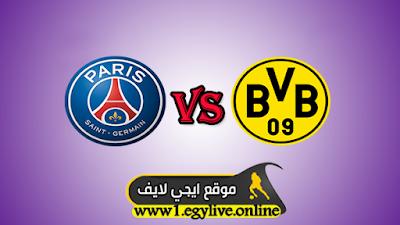 مشاهدة مباراة باريس سان جيرمان وبوروسيا دورتموند بث مباشر اليوم 11-03-2020 في دوري أبطال أوروبا