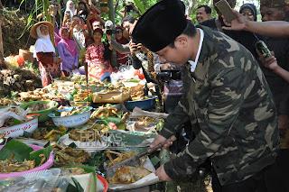 Wabup Arifin Hadiri Upacara Adat Grebeg Selo Bale