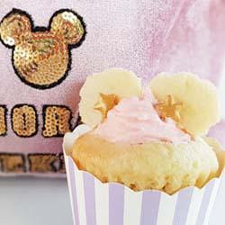 Disney Mickey Minnie Mouse easy cupcake tutorialDIY