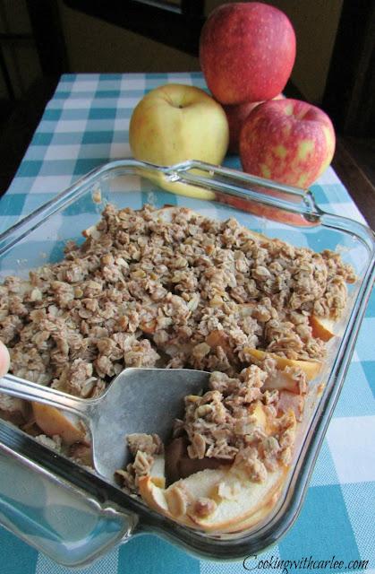 Great-Grandma's Apple Crisp