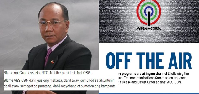 Jay Sonza says ABS-CBN owners, management to blame on shutdown, not Duterte, NTC or OSG   PTN