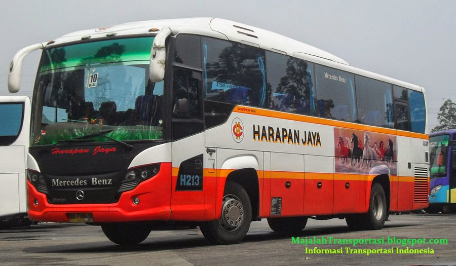 Harga Tiket Bus Harapan Jaya April 2019 E Transportasi
