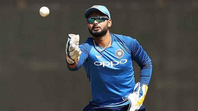 ऋषभ पंत, भारतीय क्रिकेट टीम के विकेटकीपर बल्लेबाज