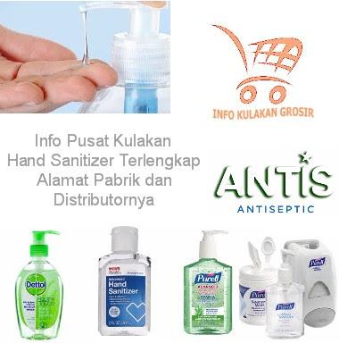 Pusat Grosir dan Distributor Hand Sanitizer