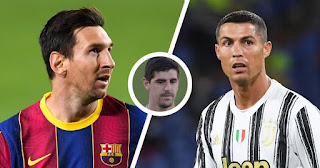 Courtois names main differences between Barcelona captain Messi and Ronaldo