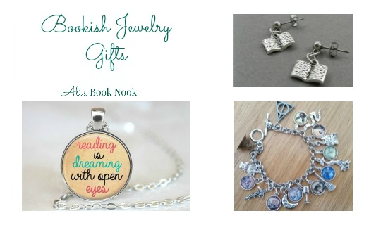 book related jewelry gifts earrings necklaces charm bracelet