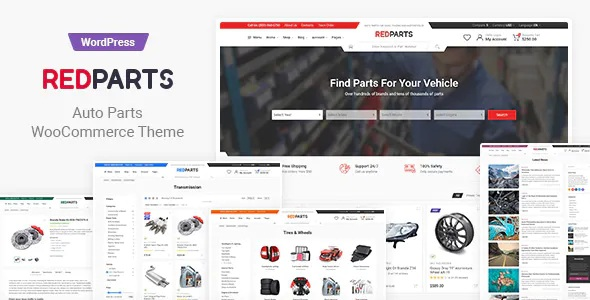 Best Auto Parts WordPress Theme
