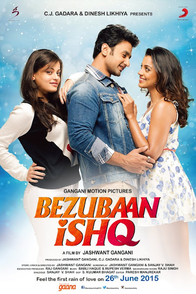Poster of Bezubaan Ishq 2015 720p Hindi HDRip Full Movie Download