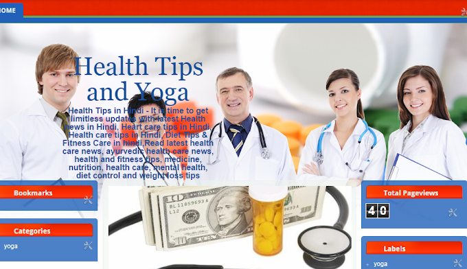 Health Tips and Yoga