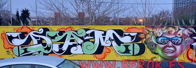 Graffitis Barcelona