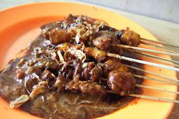 Resep Sate Ayam Bumbu Kacang Versi Pergijajan