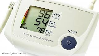 Punca tekanan darah rendah