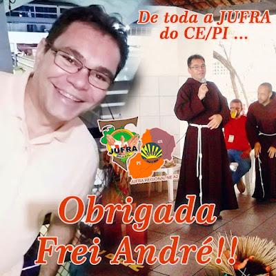 Obrigada, Frei André!