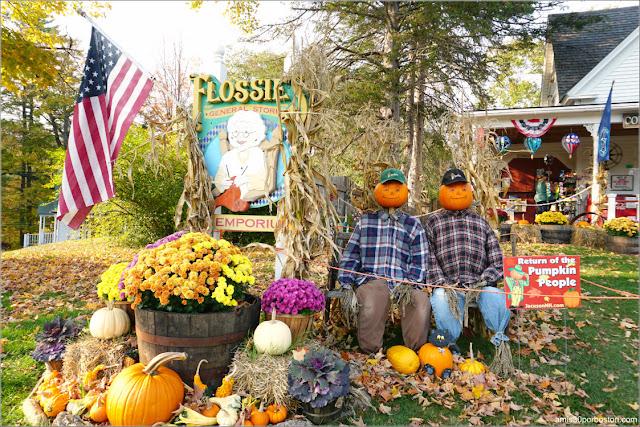 Calabazas Rurales en New Hampshire