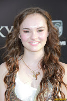 Madeline Carroll The Lucky One premiere in Los Angeles
