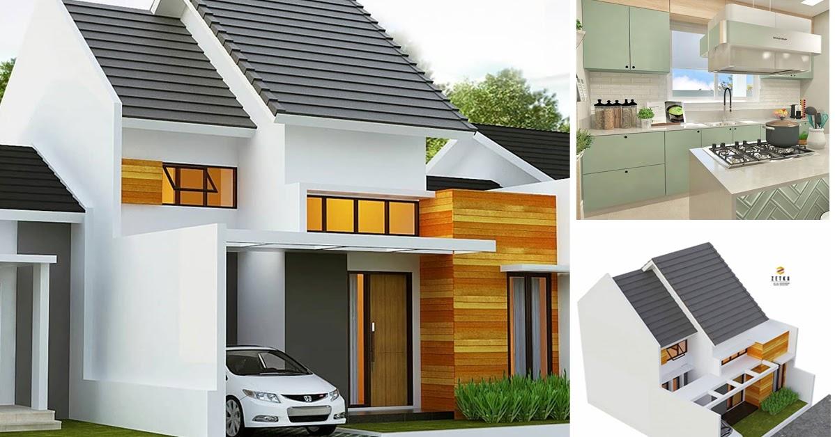 Desain dan Denah Rumah Minimalis Modern Dengan Luas Tanah ...