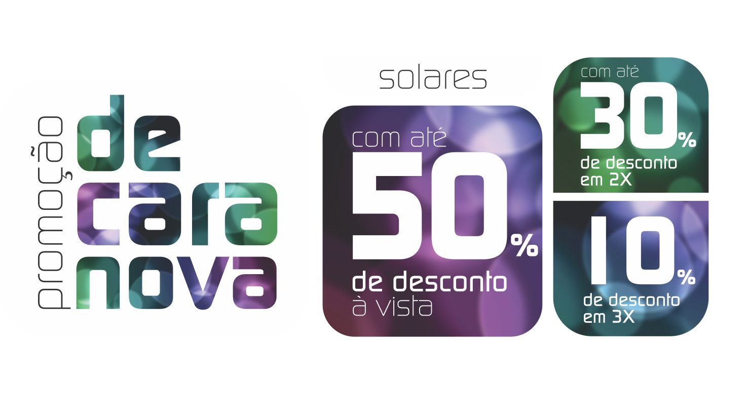 216ed7a037c Óticas Vênus  Promoção de Cara Nova! Reinauguração loja do Shopping ...