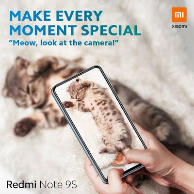 شاومي تطلق هاتف Redmi Note 9s عالميا