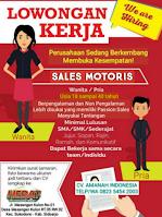 Loker Surabaya di CV. Amanah Indonesia Juni 2021