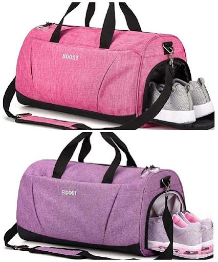Sports Gym Bag with Wet Pocket